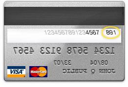 Visa Karte Sicherheitscode.So Findet Man Den Sicherheitscode Auf Der Kreditkarte